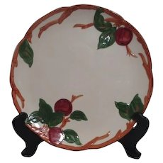 Franciscan Apple Pattern 12 1/2 inch Round Chop Plate
