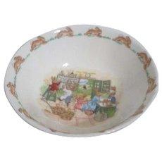 Bunnykins Cereal/Porridge Bowl by Royal Doulton