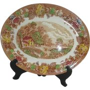 Wood & Sons English Scenery Large Platter