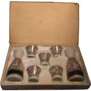 Japanese Sake Set in Original Box