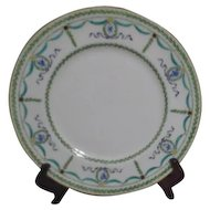 Royal Doulton Plate with Green Garlands