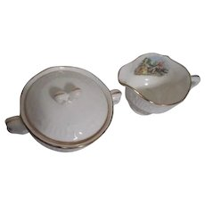 Washington Colonial Cream and Sugar Set