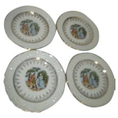 Washington Colonial Set of 4 Dessert/Bread & Butter Plates
