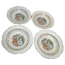 Washington Colonial Set of 4 Dessert Bowls