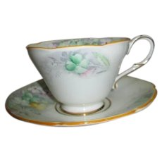 Paragon Fine Bone China by Appointment Cup and Saucer Wildflower Pattern