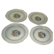 Washington Colonial Bread & Butter Plates/Large Dessert Plates