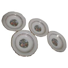 Washington Colonial Soup Bowls Set of 4
