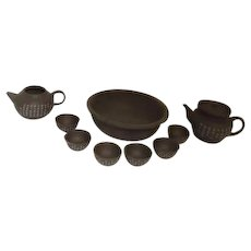 Asian Clay Tea Set 11 Piece