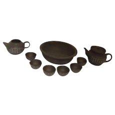 Asian Clay Tea Set 11 Piece