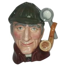 Large Royal Doulton Toby Jug The Sleuth D6631