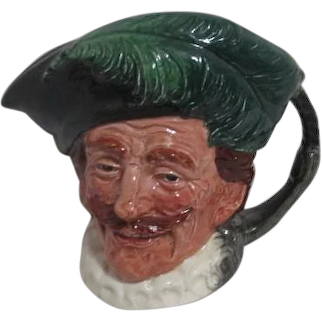 Large Royal Doulton Toby Jug The Cavalier