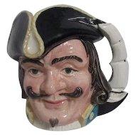 Large Royal Doulton Toby Jug Merlin Captain Henry Morgan