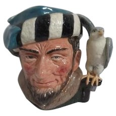 Large Royal Doulton Toby Jug The Falconer