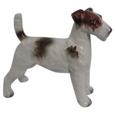 Wire-Haired Fox Terrier Figurine