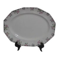 Johnson Bros. English Art Deco Pattern Meat Platter