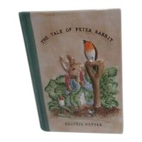 Ceramic Book Shaped Tale of Peter Rabbit Bank