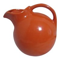 Harlequin Service Water Pitcher in Fiestaware Orange