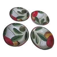 Set of 4 Pampered Chef Oil Dipping Bowls
