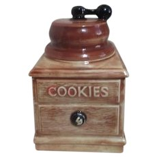 McCoy Cookie Jar Coffee Grinder Shape