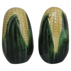 Metlox Corn in Husk Salt & Pepper Set