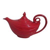 Hall Red Aladdin Tea Pot