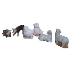 Three Sets of Barnyard Salt & Pepper Shaker Sets
