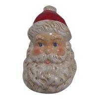 Ceramic Santa Head Candy Jar