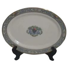 "Lenox Autumn Pattern Large 17"" Serving Platter"