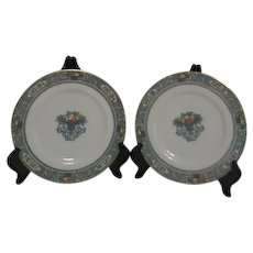 Lenox Autumn Pattern Set of 2 Salad Plates