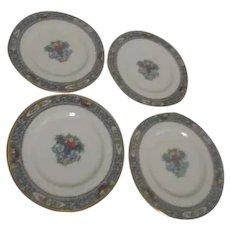 Lenox Autumn Pattern Set of 4 Bread & Butter/Dessert Plates
