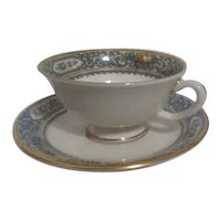 Lenox Autumn Pattern Cup & Saucer