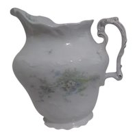 Johnson Brothers Pattern JB1277 Royal Semi Porcelain Water Pitcher