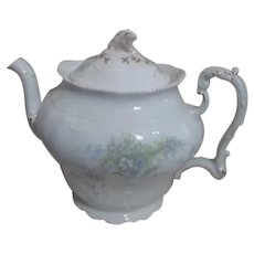 Johnson Brothers Pattern JB1277 Royal Semi Porcelain Tea Pot