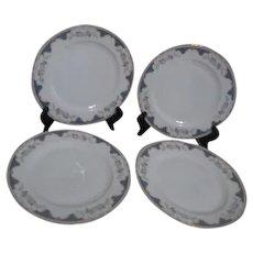 Royal Bayreuth 2 Dinner Plates Corona Pattern