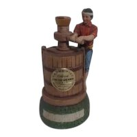 Brookside Vineyard California Cream Sherry Bottle Vintner with Winepress