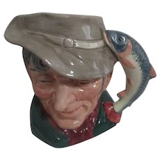 Royal Doulton Large Toby Mug  The Poacher