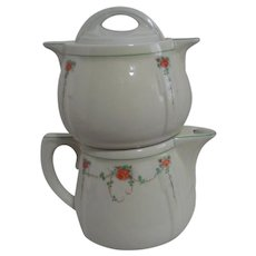 3 Piece All China Coffee Pot from Hall