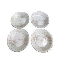 Set of 4 Theodore Haviland Dessert/Fruit Bowls Apple Blossom Pattern