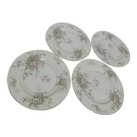Theodore Haviland Apple Blossom Salad Plates Set of 4