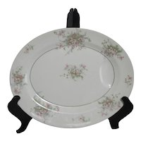 Theodore Haviland Apple Blossom Large Meat Platter