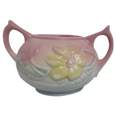 Hull Magnolia Open Top Double Handled Sugar Bowl