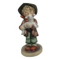 Hummel Figurine Boy with Lamb The Lost Sheep