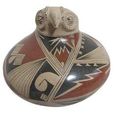 Reynalda Qde Lopez Mata Ortiz Pottery Falcon Bowl