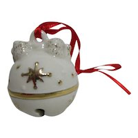 "Lenox ""Just Jingles"" Bow Bell Christmas Ornament in Original Box"