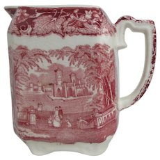 Mason's Vista Ironstone China Creamer