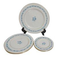 Lenox Blue Ridge Pattern 5 Assorted Plates