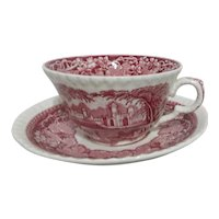 Mason's Vista Ironstone China Cup and Saucer