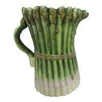 Certified International Tall Asparagus Pitcher
