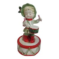 Lefton Little Drummer Boy Music Figurine