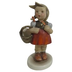 Goebel Hummel Figurine Young girl with Basket